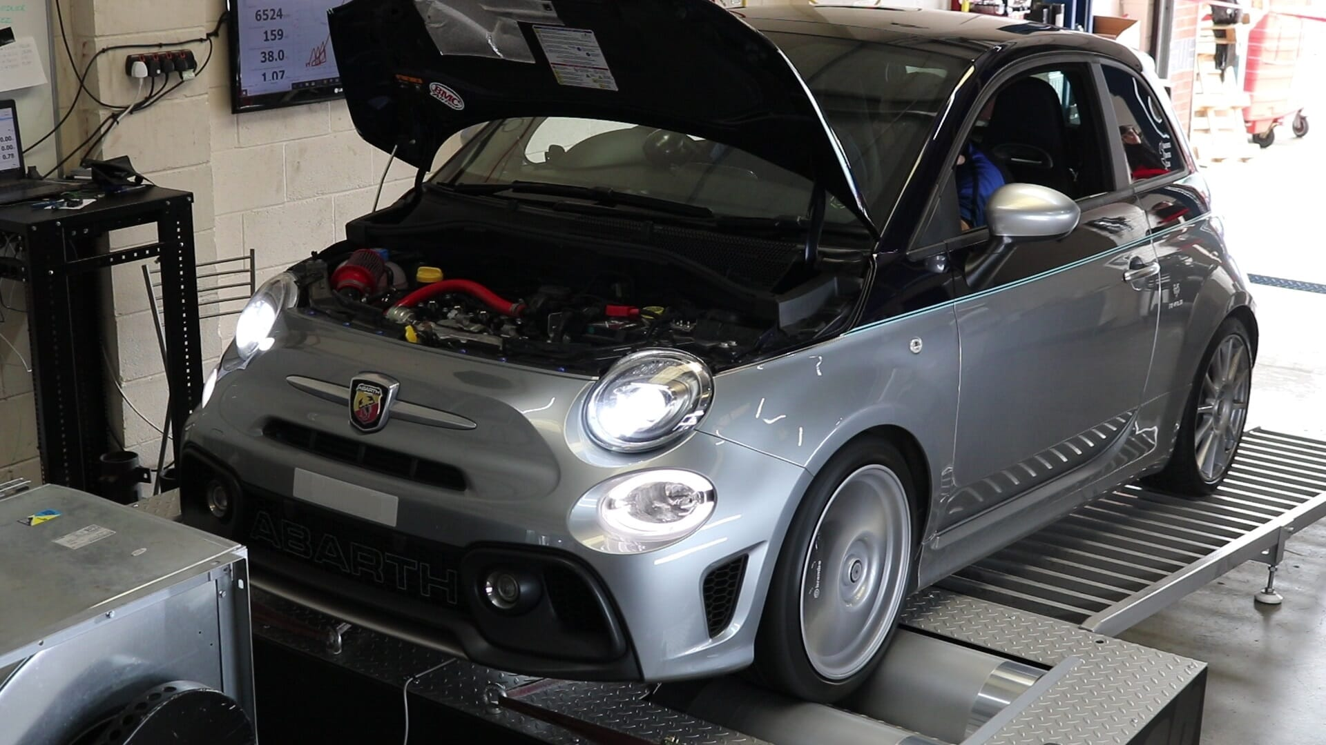 Fiesta ST Stock Throttle Closures Dyno
